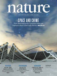 Cover of the Journal: Nature